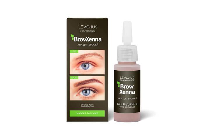 BrowXenna® хна для бровей флакон штучно БЛОНД (BrowHenna)