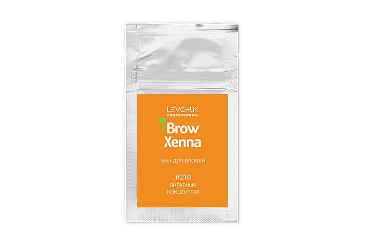 BrowXenna® хна для бровей саше концентрат (BrowHenna)